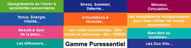 Parapharmacie-express gamme produits Puressentiel