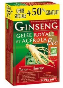 Parapharmacie Express Gelée Royale Ginseng Acerola Super Diet