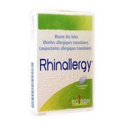 parapharmacie express allergie printemps rhinallergy boiron