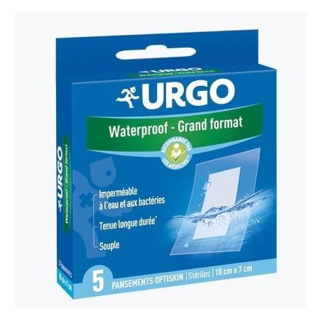 URGO WATERPROOF GRAND FORMAT 5 PANSEMENTS