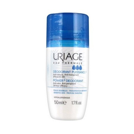 DEODORANT PUISSANCE 3 ROLL ON 50ML URIAGE