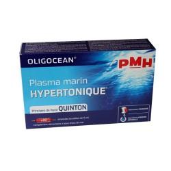 OLIGOCEAN PLASMA MARIN HYPERTONIC AMPOULES LABORATOIRES QUINTON