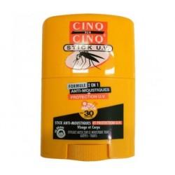 CINQ SUR CINQ STICK UV ANTI-MOUSTIQUES PROTECTION UV SPF30 20ML BAYER