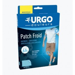 PATCH FROID GENES ARTICULAIRES 6 PATCHS URGO