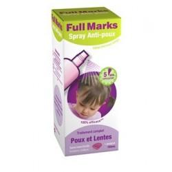 FULL MARKS SOLUTION ANTI POUX + PEIGNE 150ML