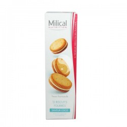 BISCUITS MILICAL COCO x12
