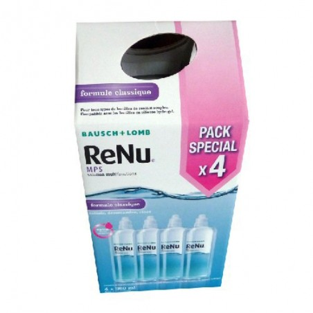 SOLUTION MULTIFONCTIONS MPS 4x360 ML RENU BAUSCH & LOMB