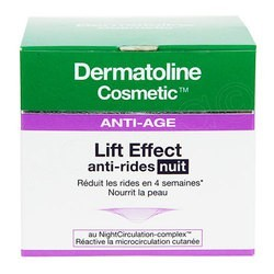 LIFT EFFECT ANTIRIDES NUIT 50ML DERMATOLINE COSMETIC