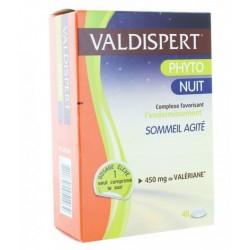 VALDISPERT PHYTO NUIT SOMMEIL AGITE 450MG - 40 COMPRIMES