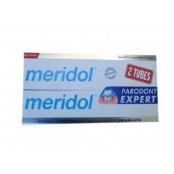 DENTIFRICE PARODONT EXPERT LOT DE 2 X 75ML MERIDOL