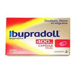 IBUPRADOLL 400MG CAPSULES MOLLES SANOFI