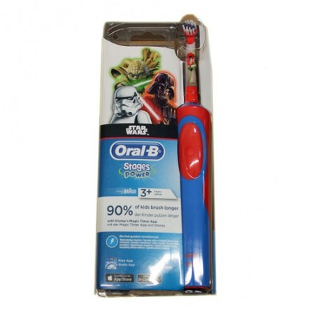 BROSSE A DENTS ELECTRIQUE STAGES POWER +3ANS STAR WARS ORAL B