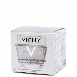 MASQUE ARGILE PURIFIANT PORES 2 X 6ML VICHY