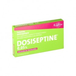 DOSISEPTINE 0.05% COLOREE 10 UNIDOSES DE 5ML GIFRER