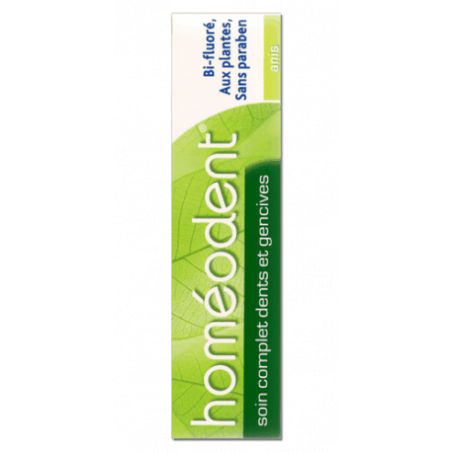HOMEODENT SOIN COMPLET DENTS ET GENCIVES ANIS 75ML BOIRON