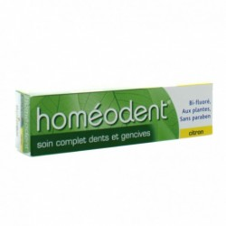 HOMEODENT SOIN COMPLET DENTS ET GENCIVES CITRON 75ML BOIRON