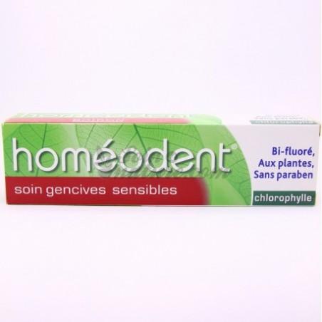 HOMEODENT SOIN GENCIVES SENSIBLES CHLOROPHYLLE 75ML BOIRON