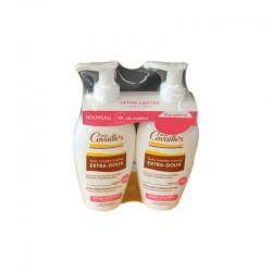 LOT SOIN TOILETTE INTIME EXTRA DOUX ROGE CAVAILLES 2 x 200 ML