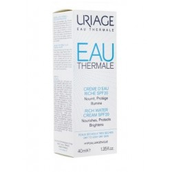 EAU THERMALE CREME D'EAU RICHE SPF20 VISAGE 40ML URIAGE