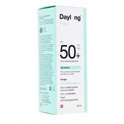SENSITIVE FACE GEL FLUIDE VISAGE 50+ 50ML DAYLONG
