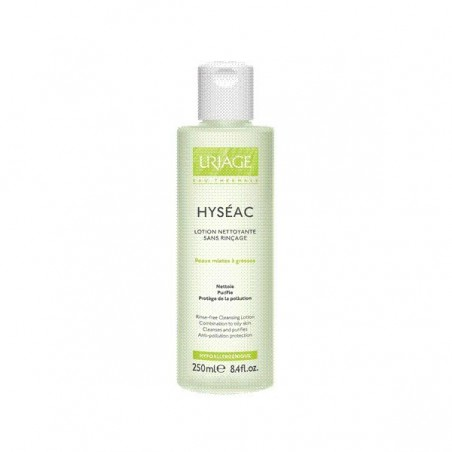 HYSEAC LOTION NETT SANS RINCAGE URIAGE 250ML