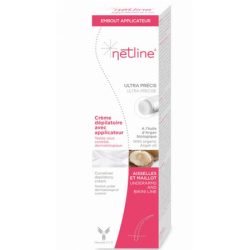 CREME DEPILATOIRE AVEC APPLICATEUR ULTRA PRECIS 100ML NETLINE