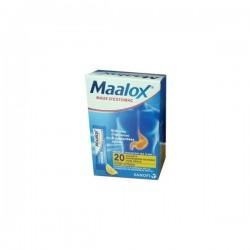MAALOX MAUX D'ESTOMAC SACHETS DOSES CITRON SANOFI
