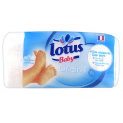 CARRES COTON BEBE ORIGINAL LOTUS