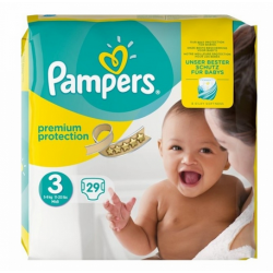 PREMIUM PROTECTION NEW BABY 5-9 KILOS Taille 3 COUCHES PAMPERS