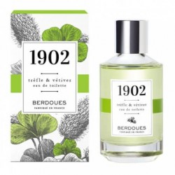 EAU DE TOILETTE 1902 TREFLE et VETIVER 100ML BERDOUES