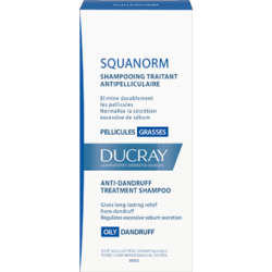 SQUANORM PELLICULES GRASSES 200ML DUCRAY
