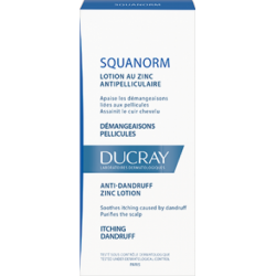 SQUANORM DEMANGEAISONS LOTION ANTIPELLICULAIRE AU ZINC 200ML DUCRAY