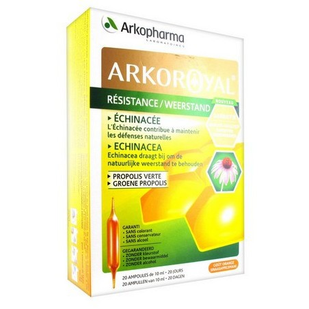 ARKOROYAL RESISTANCE 20 AMPOULES ARKOPHARMA