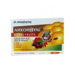ARKOROYAL ROYAL' FRUITS 20 AMPOULES ARKOPHARMA