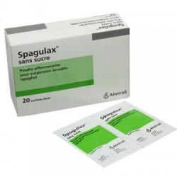 SPAGULAX SANS SUCRE POUDRE EFFERVESCENTE 20 SACHETS DOSE
