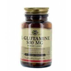 L GLUTAMINE 500MG  Flacon de 50 gélules SOLGAR