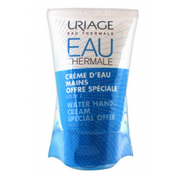 EAU THERMALE CREME D'EAU MAINS LOT DE 2X50ML URIAGE