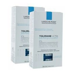 TOLERIANE ULTRA DEMAQUILLANT 30x5ML  LOT DE 2 LA ROCHE POSAY