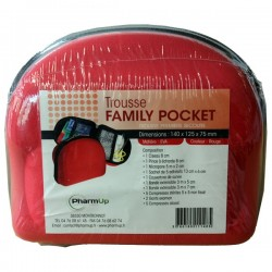 TROUSSE DE SECOURS FAMILY POCKET Modèle EVA PHARM UP