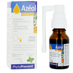 AZEOL SPRAY GORGE 15ML PHYTOPREVENT