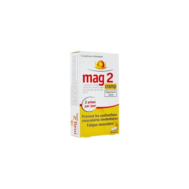 MAG 2 CRAMP MAGNESIUM MARIN 30 COMPRIMES COOPER