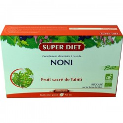 NONI FRUIT SACRE DE TAHITI 20 AMPOULES X15ML SUPER DIET