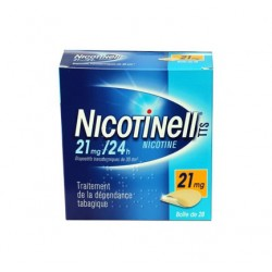 NICOTINELL TTS 21MG/24H  BOITE DE 7 PATCHS NOVARTIS