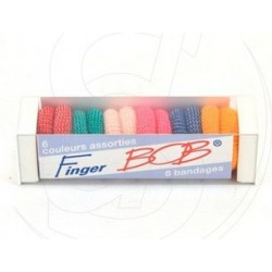 FINGER BON BANDAGES BLANCS TUBULAIRES X6