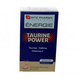 ENERGIE TAURINE POWER 30 COMPRIMES EFFERVESCENTS FORTE PHARMA
