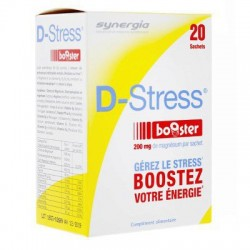 D-STRESS BOOSTER 20 SACHETS SYNERGIA