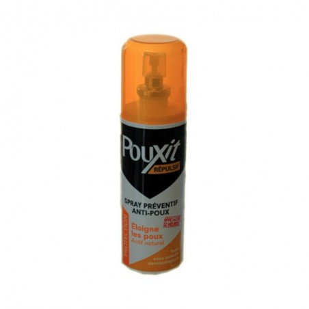 SPRAY REPULSIF ANTI POUX 75 ml POUXIT