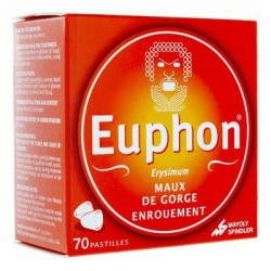 EUPHON ENROUEMENT 70 PASTILLES MAYOLY SPINDLER