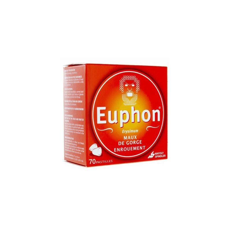 EUPHON ENROUEMENT 70 PASTILLES MAYOLY SPINDLER
