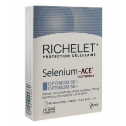 RICHELET SELENIUM ACE OPTIMUM 50+ 90 COMPRIMES MERCK